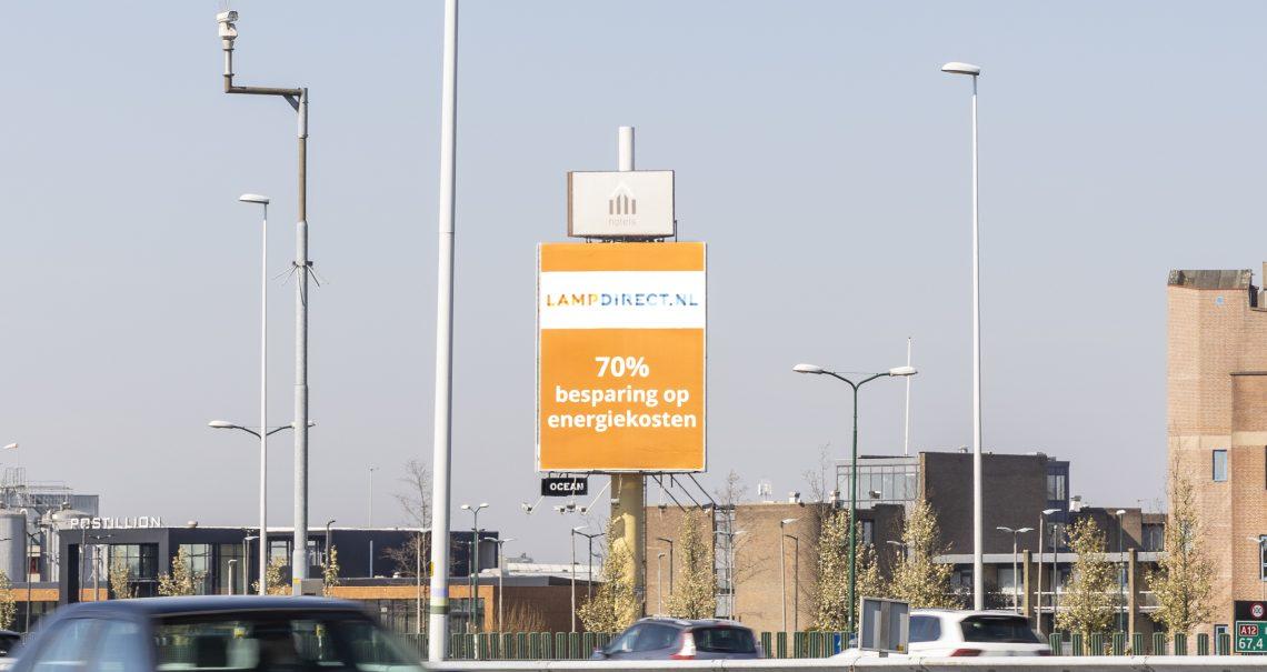 Campagne Lampdirect mast Utrecht Bunnik