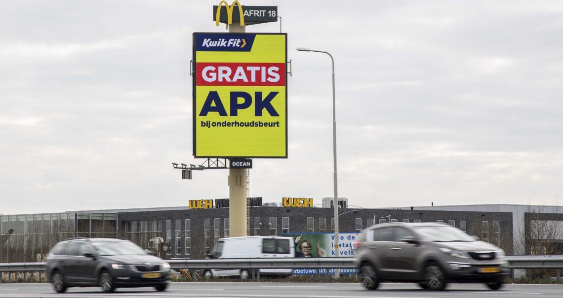 Mast Arnhem Heteren campagne Kwikfit
