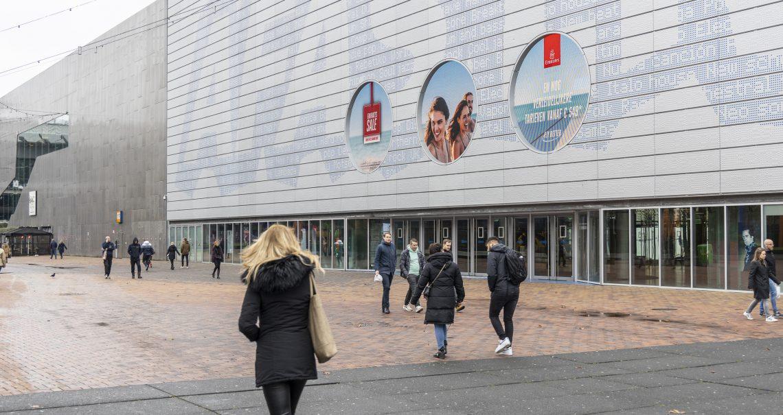 Amsterdam AFAS Emirates campagne