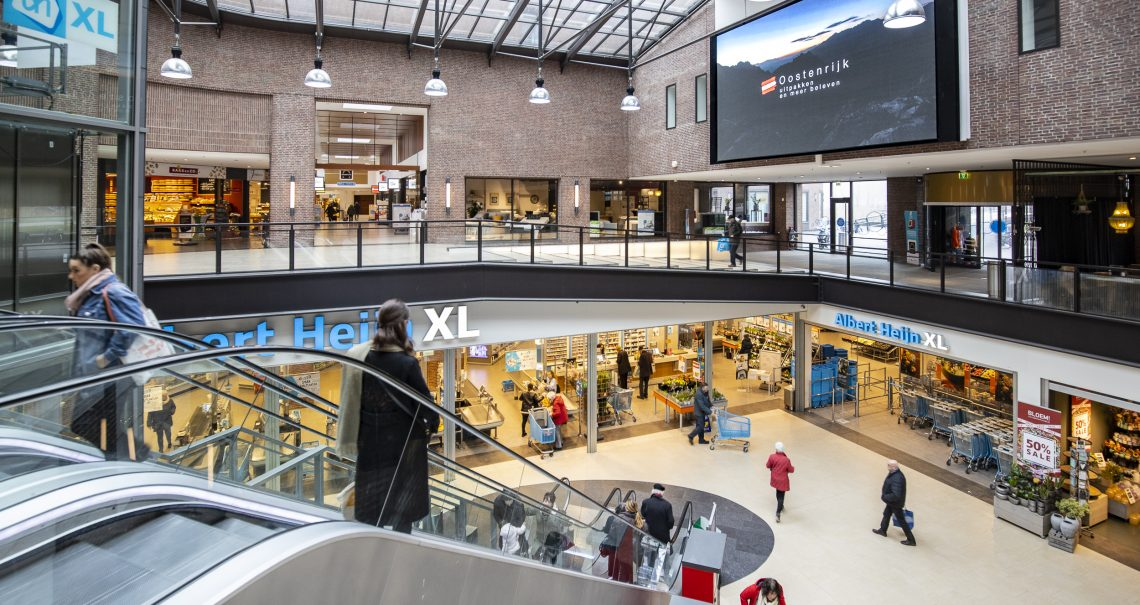Winkelcentrum Diemerplein campagne Oostenrijks verkeersbureau