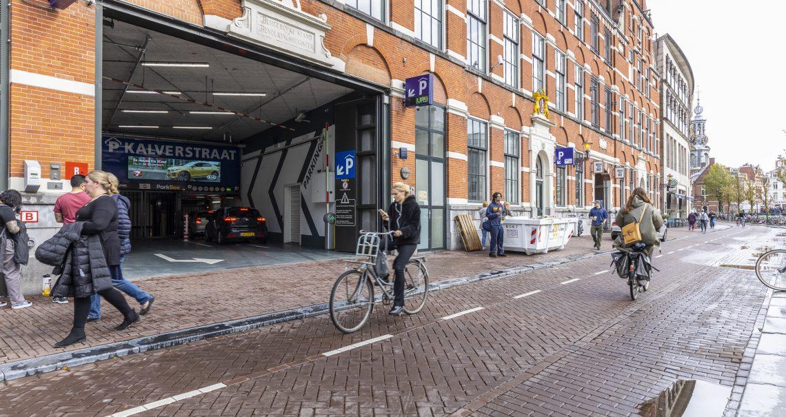 Ocean digitaal scherm Amsterdam Kalverpassage Parkeergarage campagne Kia