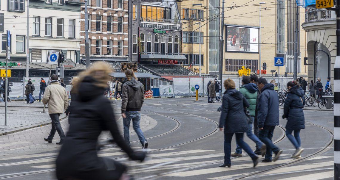 Amsterdam Leidseplein campagne H&M
