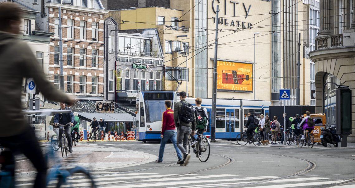 DOOH campagne Johnnie Walker op Amsterdam Leidseplein