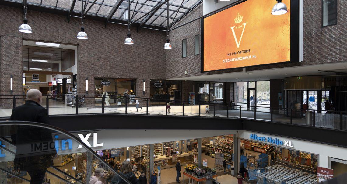 Winkelcentrum Diemerplein campagne Soldaat van Oranje