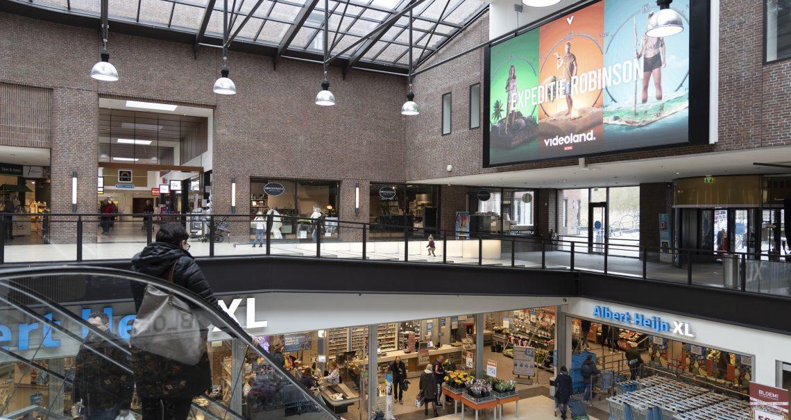 Winkelcentrum Diemerplein campagne Videoland