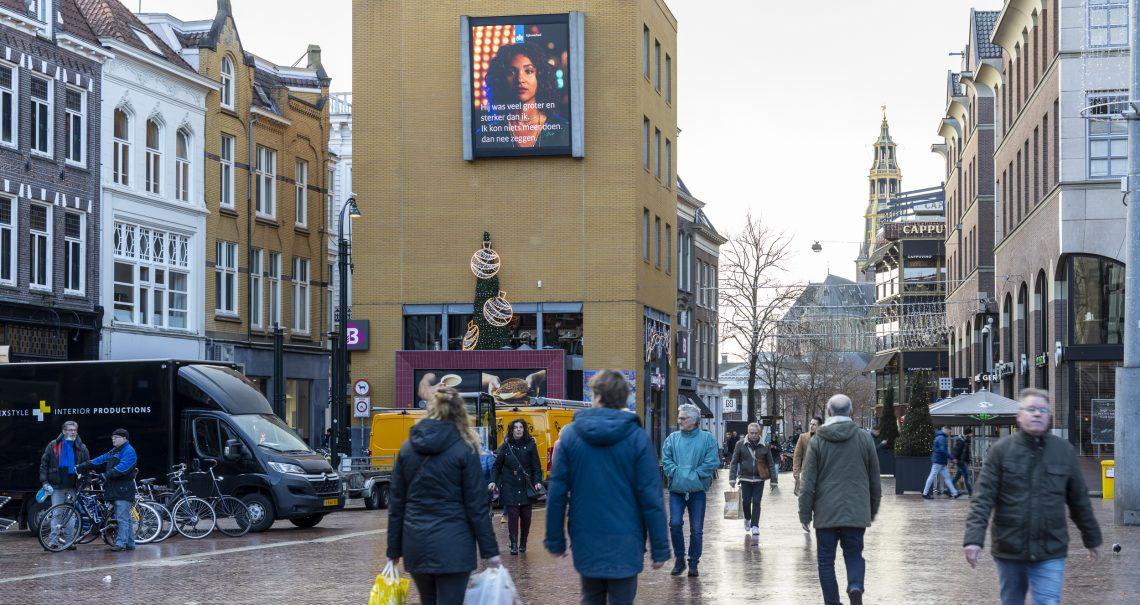 Digitaal schem Groningen Grote Markt Campagne Ministerie
