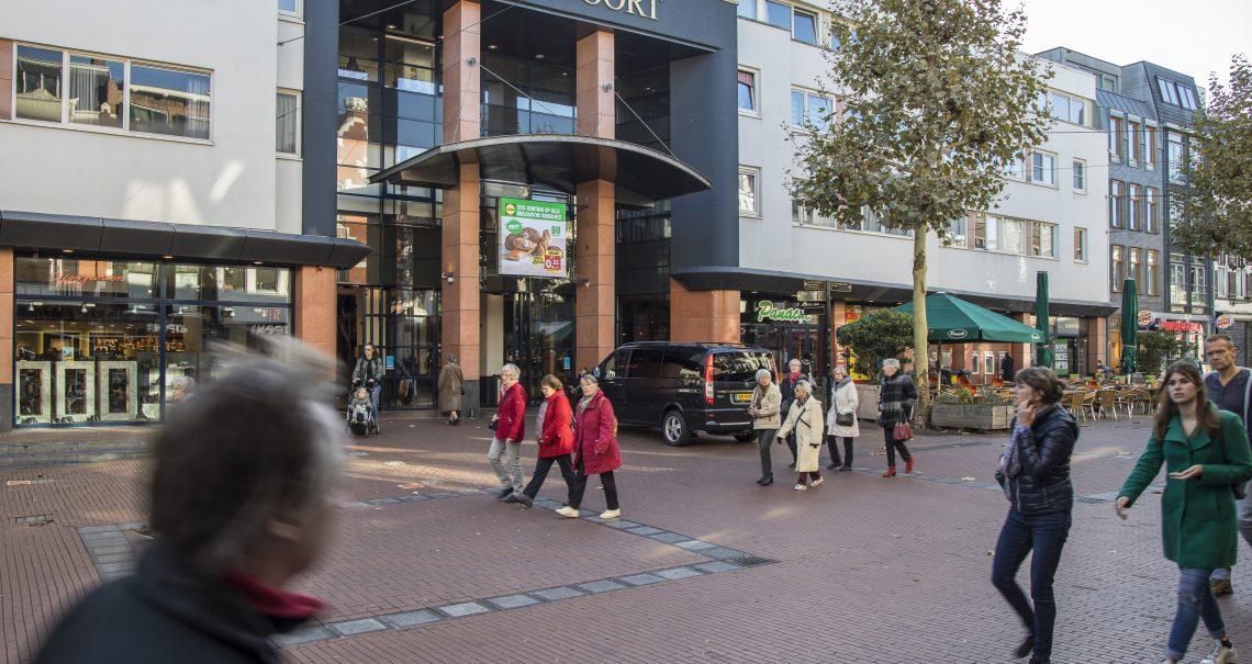 Campagne Lidl op digitaal scherm Nijmegen Molenpoort