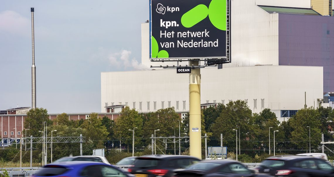 Mast Amsterdam Coentunnel 2 A10 campagne KPN