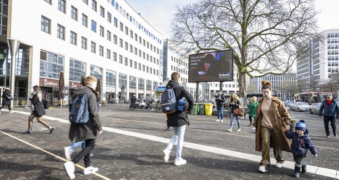 Amersfoort Stationsplein groot formaat digitaal