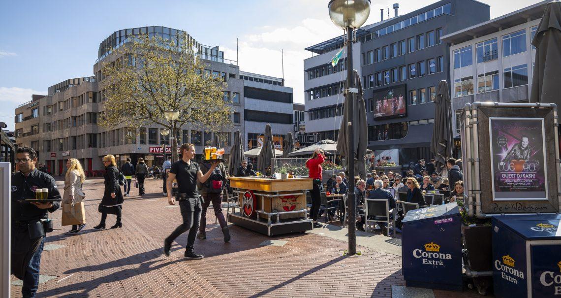 Digitaal scherm Eindhoven De Markt