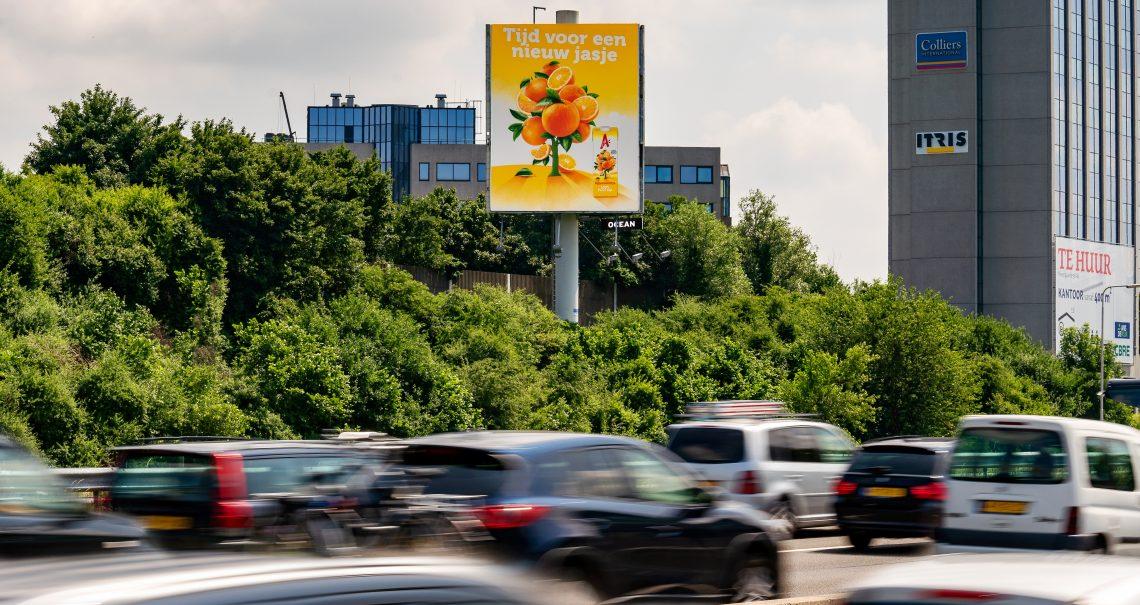 A zijde mast Utrecht Knp Ouderijn A2/A12