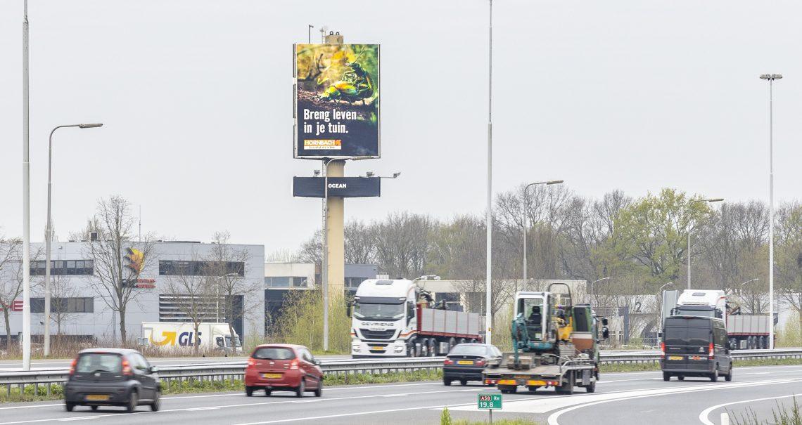 A zijde mast Eindhoven Oirschot A58