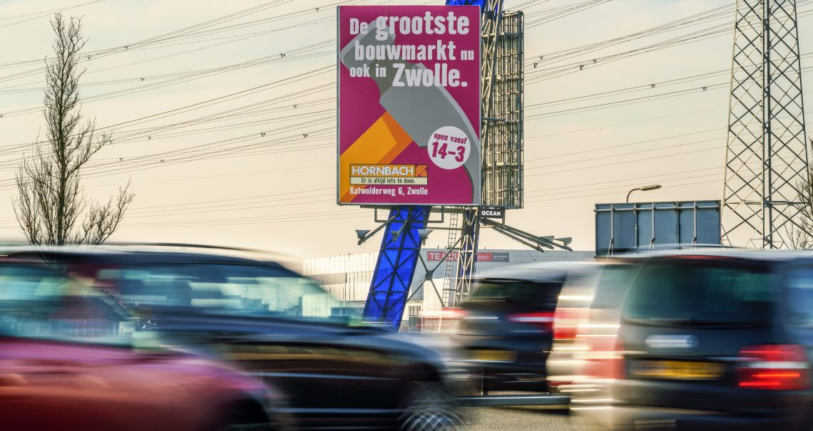 A zijde mast Zwolle Nieuwleusen A28
