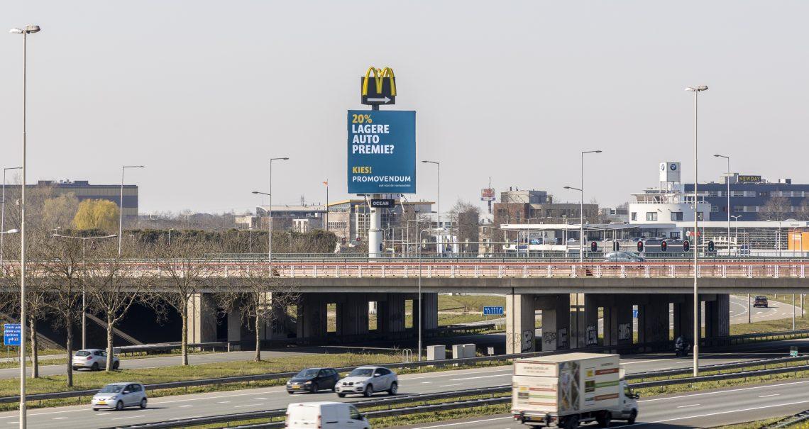 A zijde Amersfoort Knp Hoevelaken A1/A28