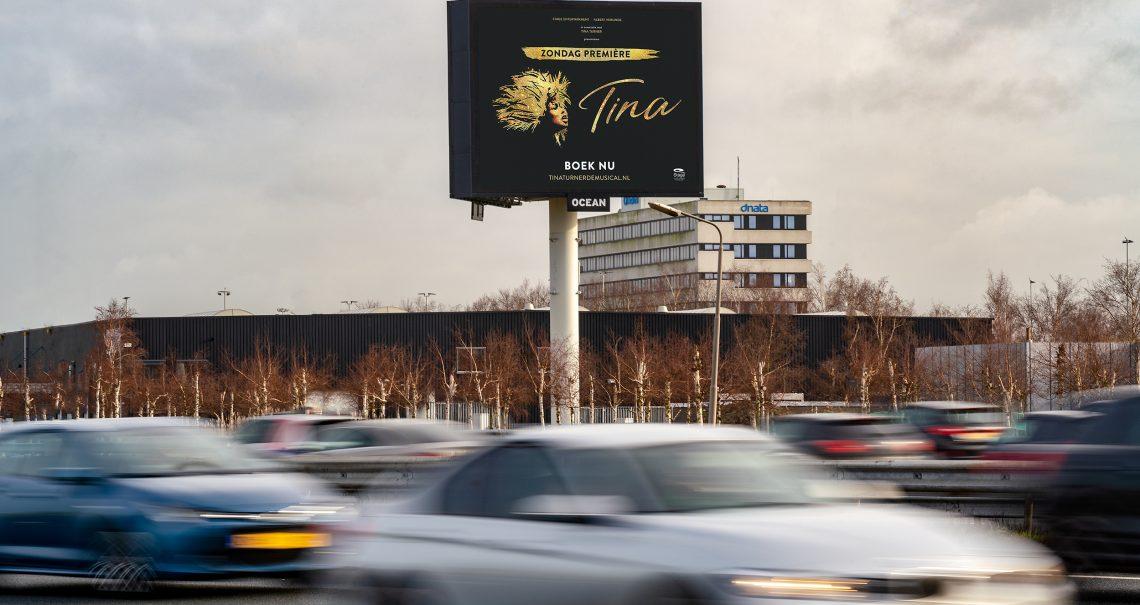 Schiphol Airport 4 A4 Ocean campagne Tina de Musical