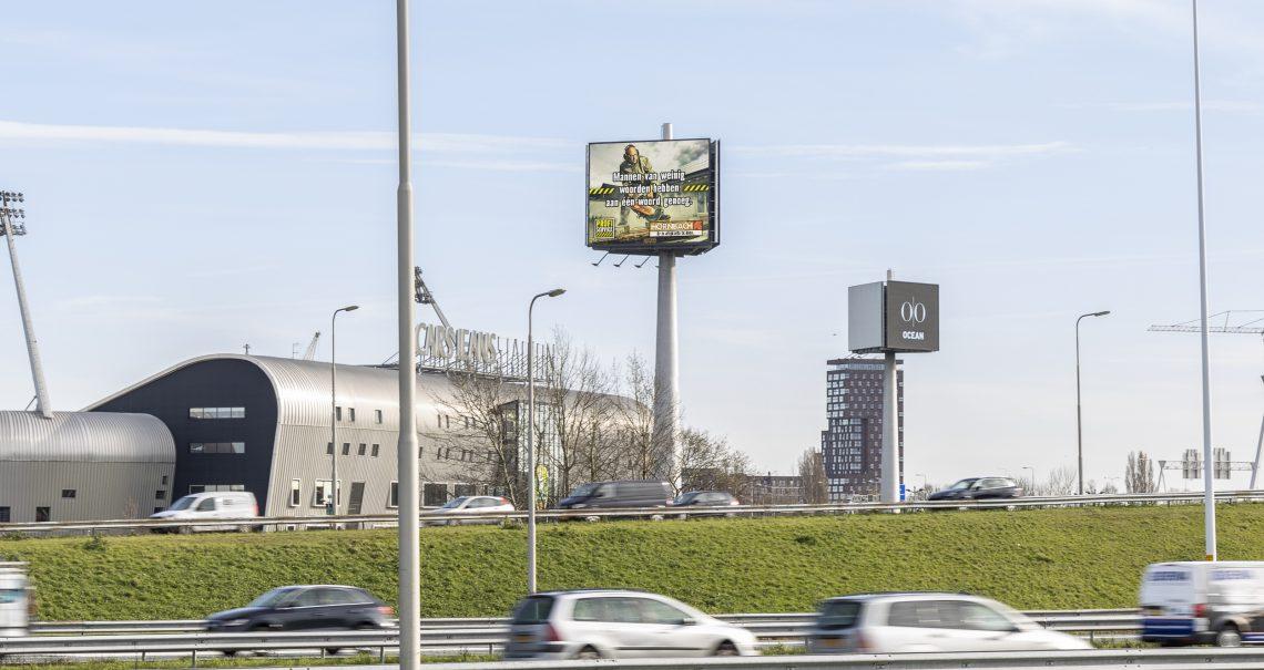 Campagne Hornbach op mast Den Haag Knp Prins Clausplein 1 A4/A12