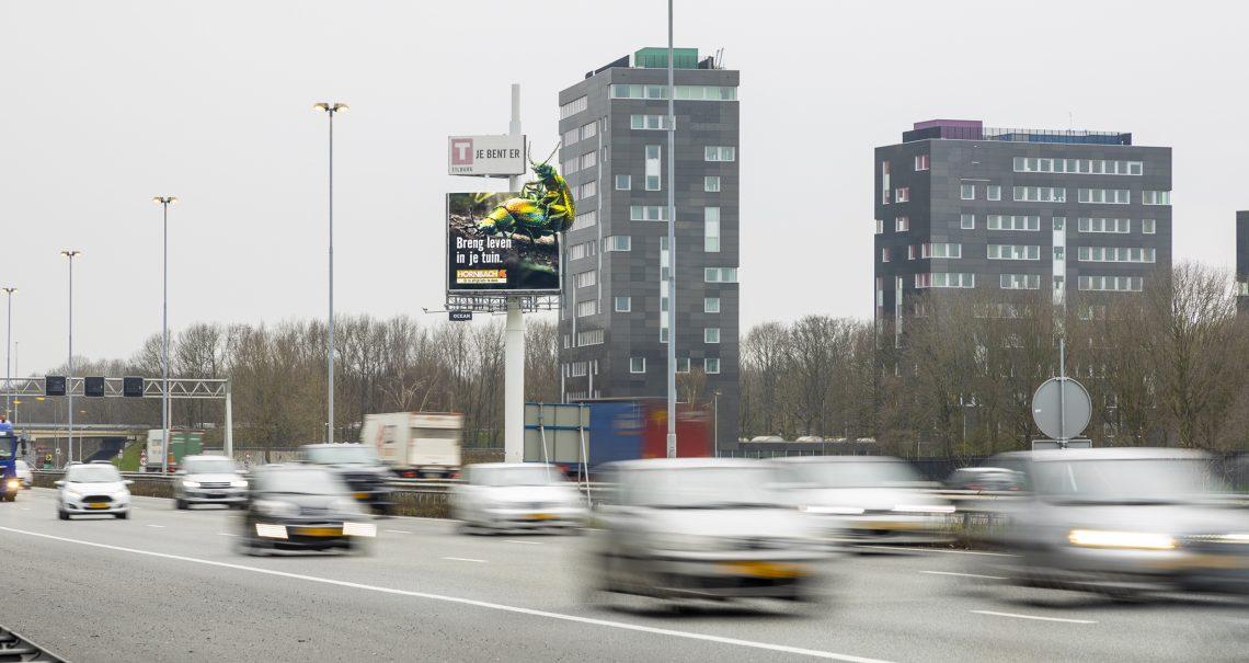 B zijde mast Tilburg A58