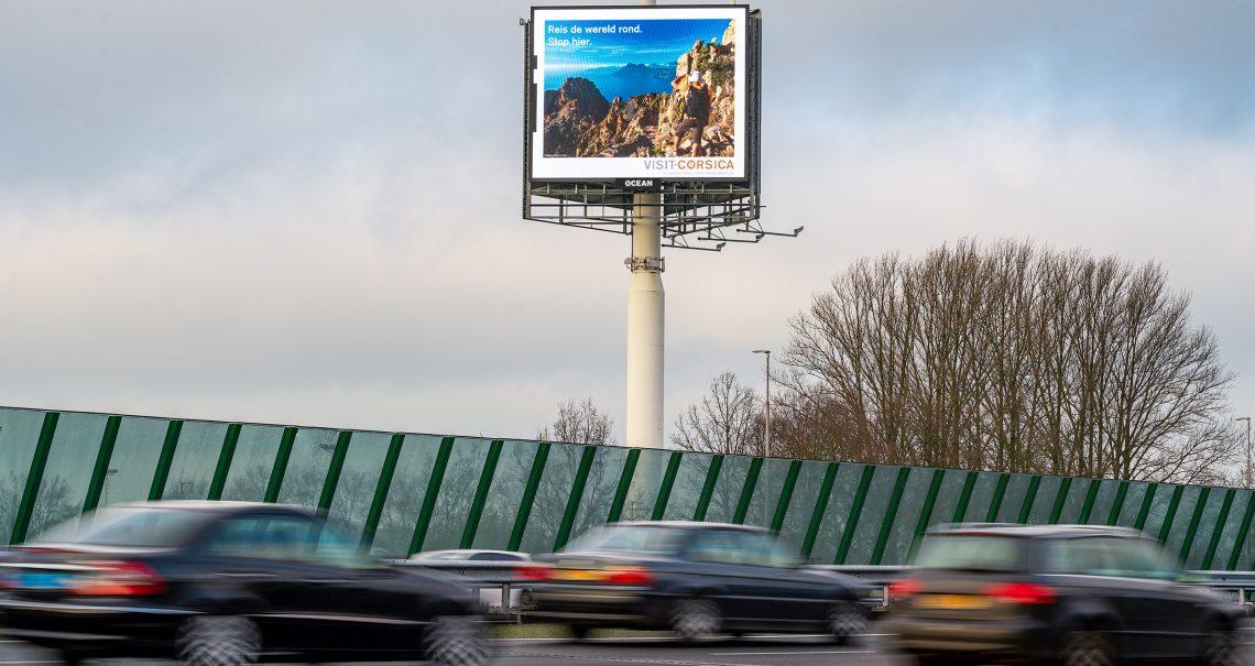 Digitale A zijde mast Utrecht Knp Everdingen A2/A27