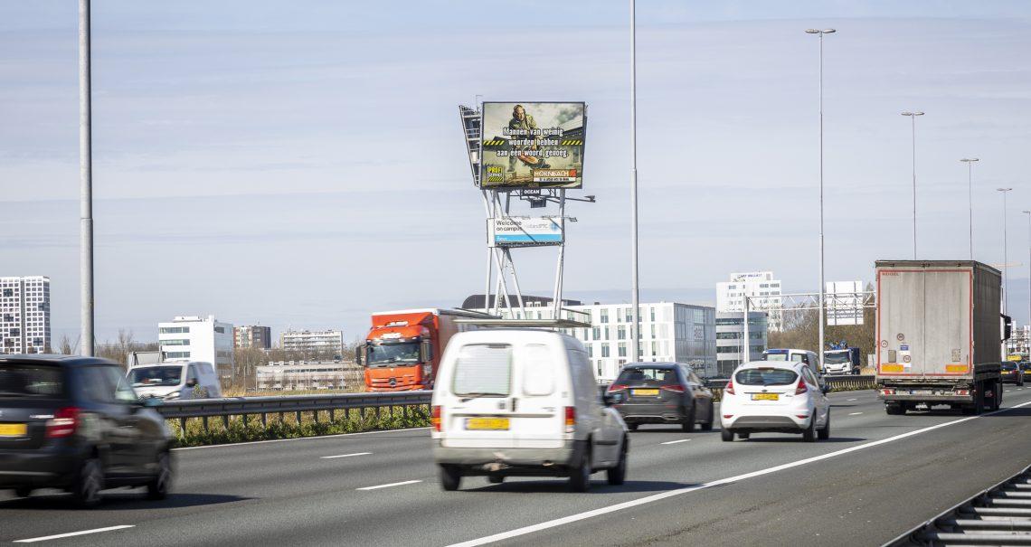 Mast Delft TU A13 A zijde