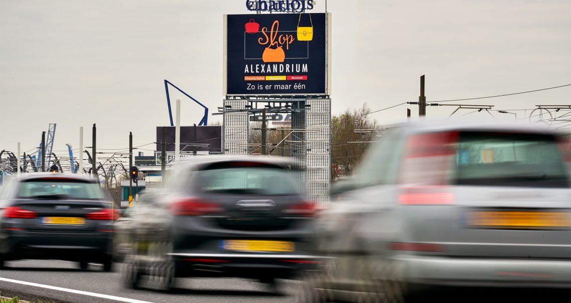 B zijde mast Rotterdam Charlois