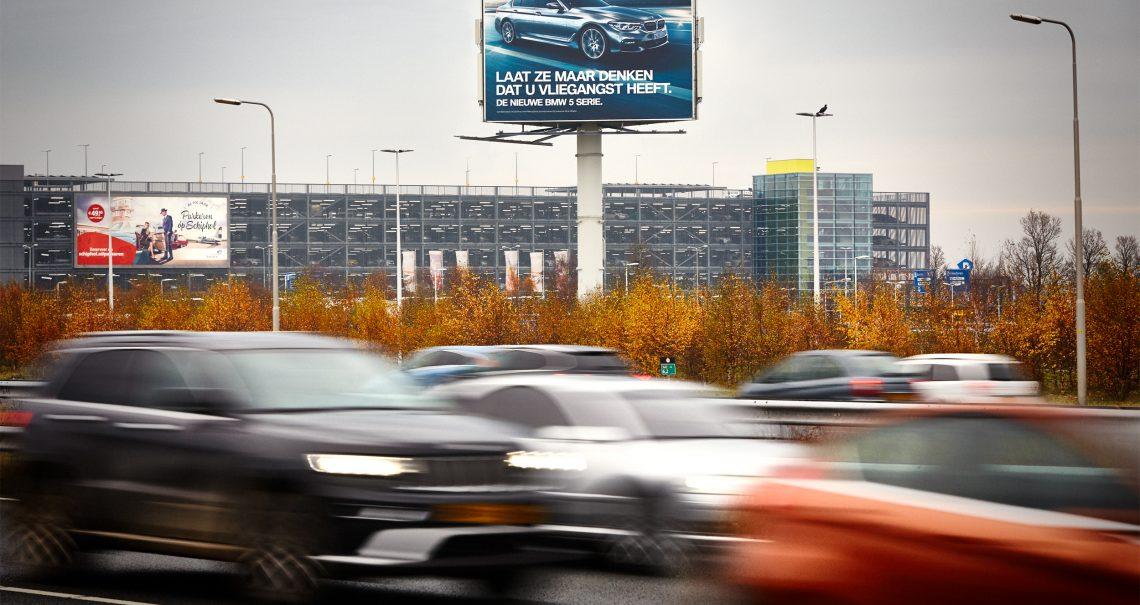 Snelwegmast Schiphol Airport 3 A4 B-zijde Ocean