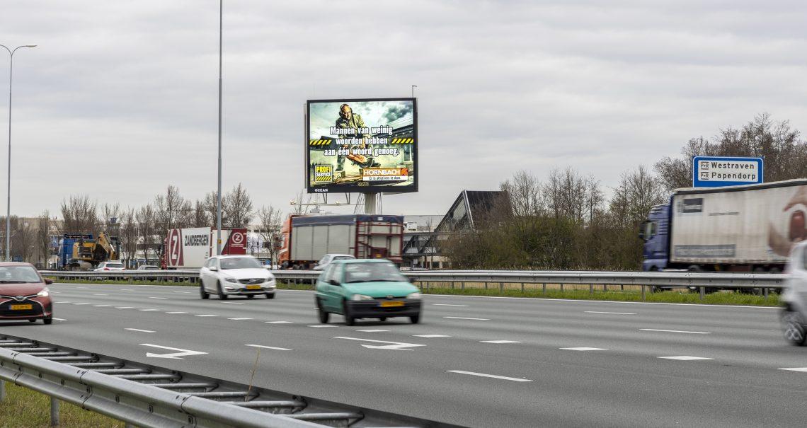 B zijde mast Utrecht Houten A27