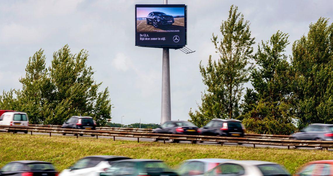 A zijde mast Den Haag Knp Prins Clausplein 2