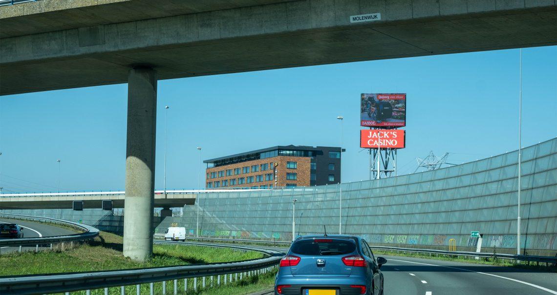 Snelwegmast Amsterdam Knp Coenplein A8/A10 B-zijde