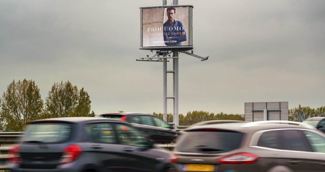 Ocean Outdoor Nederland mast campagne Profuomo