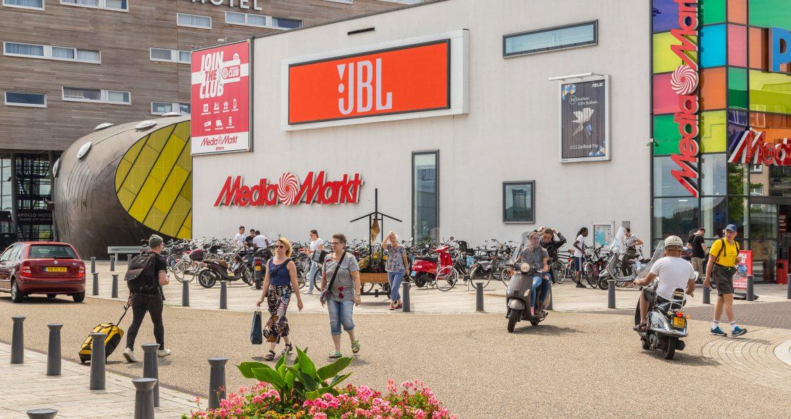 Almere Citymall digitaal scherm