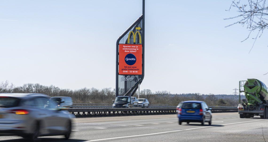 A zijde mast Apeldoorn Knp Beekbergen