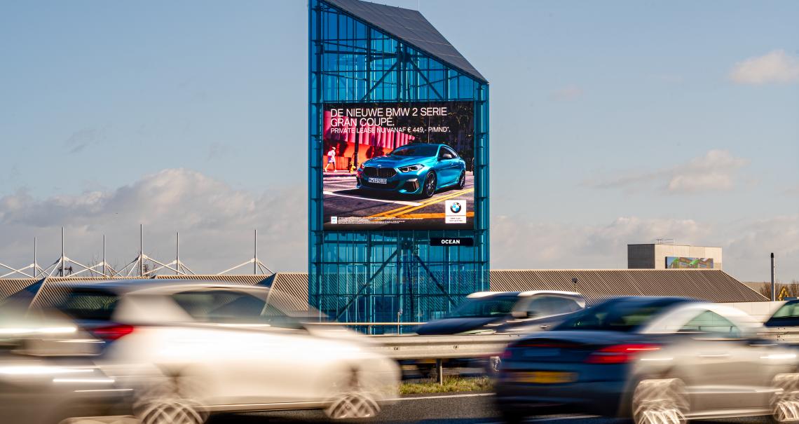 Snelwegmast 115A campagne BMW