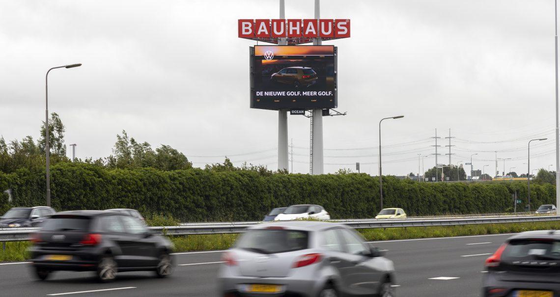Den Haag Zuid A4 campagne Volkswagen