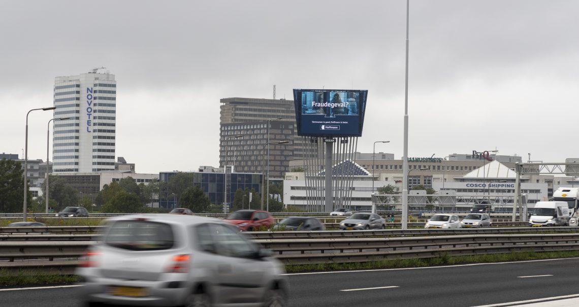 Rotterdam Brienenoordbrug 2 A16 campagne Hoffmann