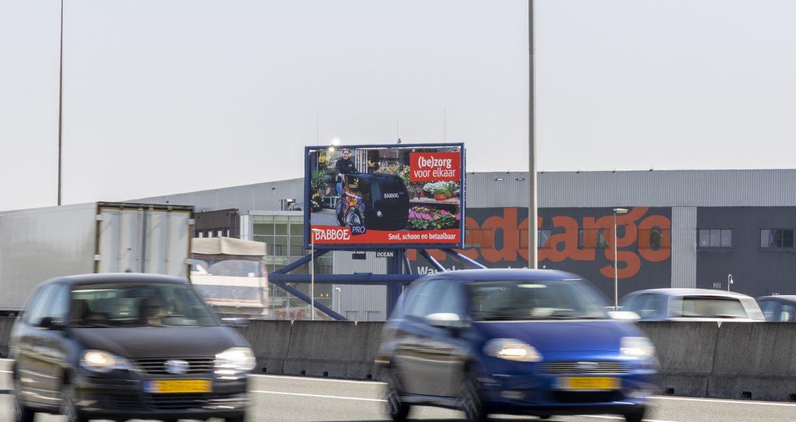 campagne Babboe op mast Waddinxveen
