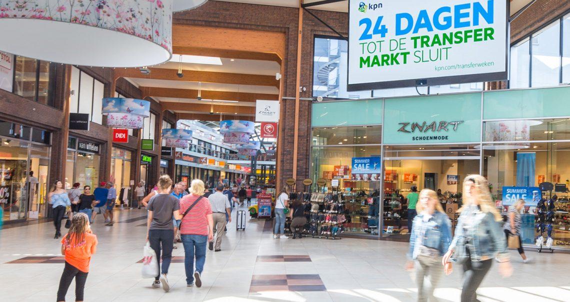 Locatie supermarkt pakket Hoofddorp Winkelcentrum Polderplein