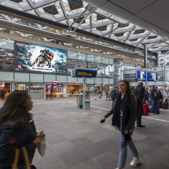 Ubisoft case HTML 5 Den Haag Centraal Station - Ocean