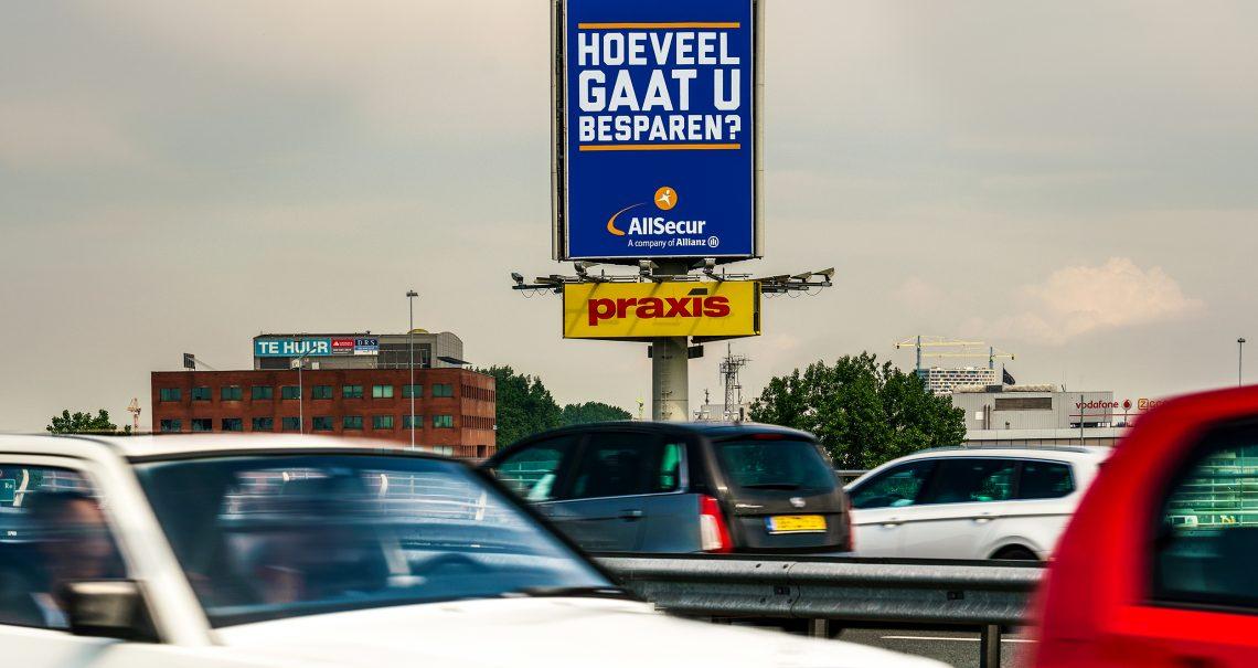 Snelwegmast Amsterdam Coentunnel 2 A10/A5 C-zijde
