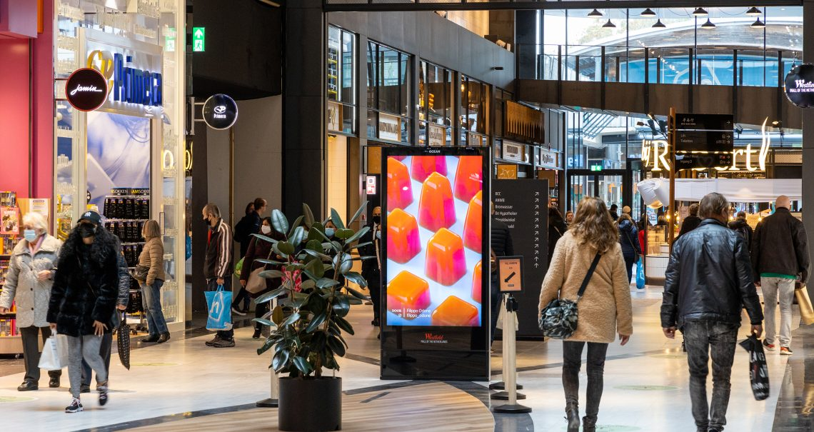 Westfield Mall of the Netherlands Digital Totem