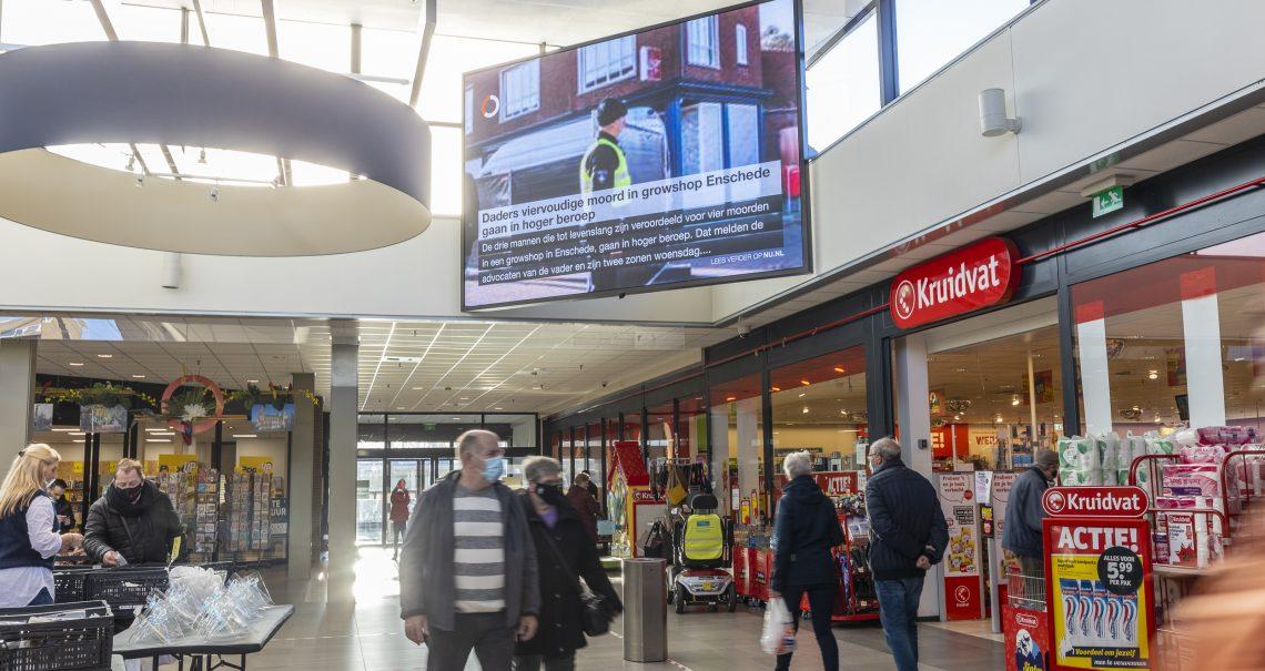 Den Bosch Helftheuvel Digitaal scherm
