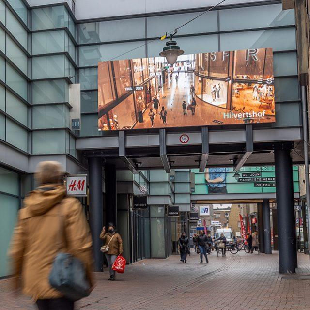 Digitaal scherm Hilversum Hilvertshof Zeedijk