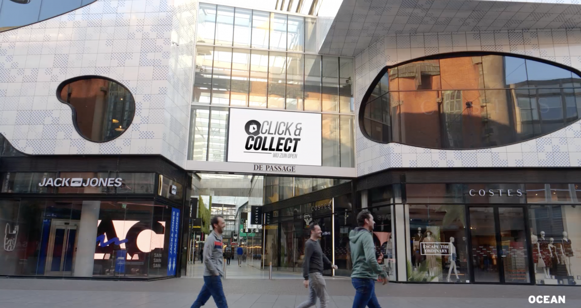 Impressiefilm Click&Collect campagne