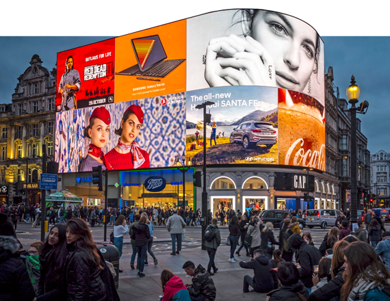 Ocean Outdoor UK Piccadilly Circus