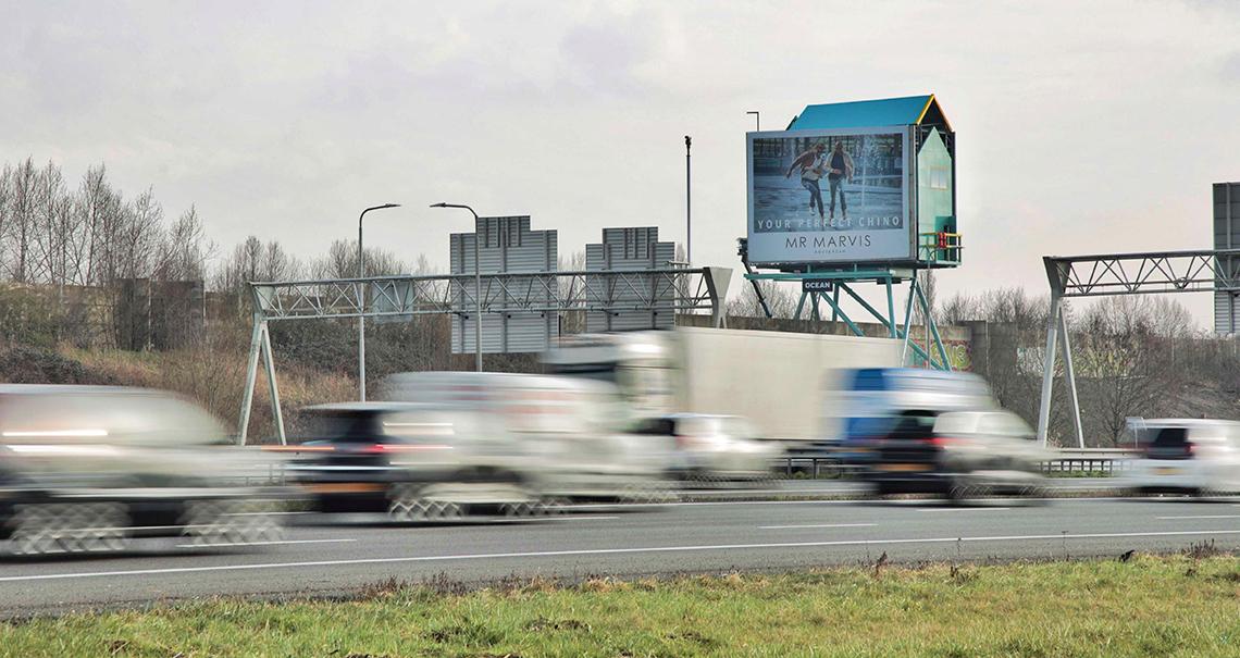 Nieuwegein Lifeguard Tower A zijde richting Den Bosch