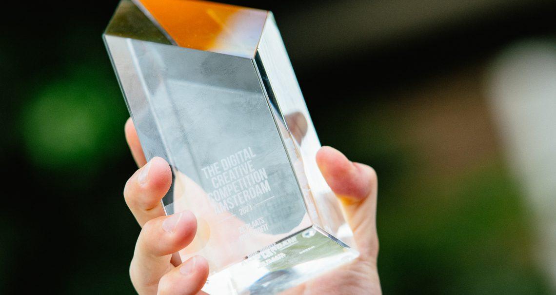 Uitreiking Ocean DCC Amsterdam - Award