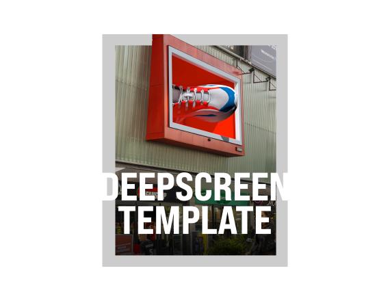 DeepScreen™ Ocean Template